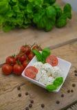 Mozzarella Immagine Stock