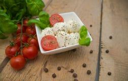 Mozzarella Fotografia Stock