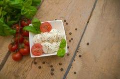 Mozzarella Fotografia Stock Libera da Diritti