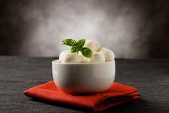 Mozzarella appetizer Stock Photo