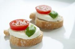 Mozzarella Appetizer Royalty Free Stock Photography