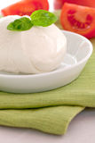 Mozzarella ball Stock Photo