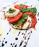 Fresh caprese salad Royalty Free Stock Photography