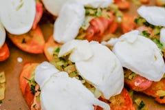 Mozzarella bites Stock Image