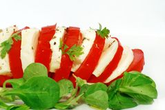 Mozzarella Caprese Italy Royalty Free Stock Photography