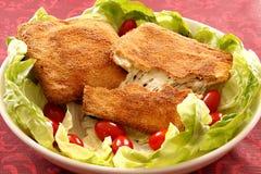 Mozzarella in carrozza Fotografia Stock