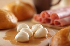 Mozzarella cheese Stock Photos
