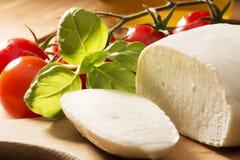 Mozzarella cheese Royalty Free Stock Photo