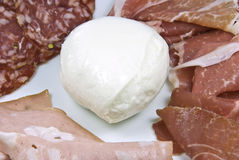 Mozzarella cheese Royalty Free Stock Images