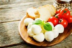 Mozzarella cheese Stock Photography