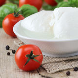Mozzarella cheese Stock Photography