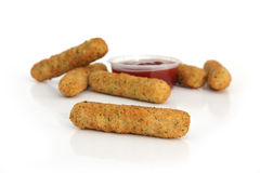 Mozzarella Cheese Sticks Stock Images