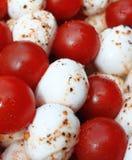 Mozzarella de tomate Photo libre de droits