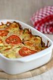 Mozzarella et légumes photo stock