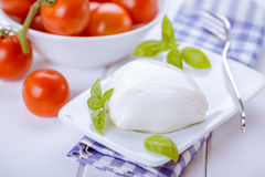 Mozzarella i pomidory Obrazy Stock