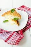 Mozzarella im carozza Lizenzfreie Stockbilder