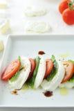 mozzarella pomidor Obrazy Stock