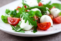 Mozzarella Salad Stock Photography