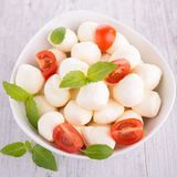 Mozzarella salad Royalty Free Stock Images