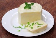 Mozzarella ser z stevia zdjęcie royalty free