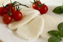 Mozzarella tomato basil Royalty Free Stock Photography