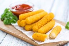 Mozzarella Wtyka (smaży) Zdjęcia Stock