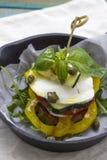 Mozzarelli sałatka Fotografia Stock
