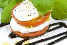 mozzarelli sterty pomidor Zdjęcia Royalty Free