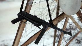 MP40 γερμανικό submachine πυροβόλο όπλο φιλμ μικρού μήκους