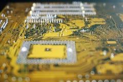 10mp υπολογιστής κυκλωμάτων φωτογραφικών μηχανών χαρτονιών που λαμβάνεται Στοκ Εικόνες