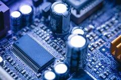 10mp υπολογιστής κυκλωμάτων φωτογραφικών μηχανών χαρτονιών που λαμβάνεται Στοκ Φωτογραφίες