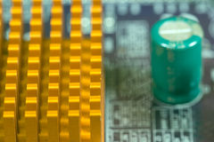 10mp υπολογιστής κυκλωμάτων φωτογραφικών μηχανών χαρτονιών που λαμβάνεται Στοκ Εικόνα
