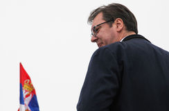 MP Сербии Aleksandar Vucic Стоковое фото RF