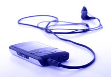 MP 3 player Royalty Free Stock Photography
