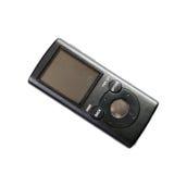 MP3 de speler, het is geïsoleerd Royalty-vrije Stock Foto