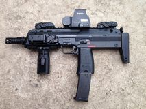 MP7A1 kanon Stock Foto's