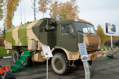 MP32M1 unified command and control vehicle Stock Photography