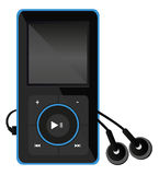Mp3 media player. Vector illustration of Mp3 media player. Eps format 10 is available Stock Photo