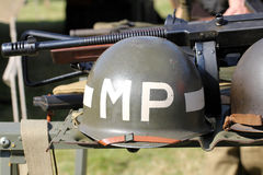 MP military police helmet Stock Images