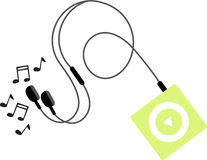 MP3 Music Player Royalty Free Stock Image