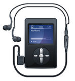 MP3 player. Royalty Free Stock Images
