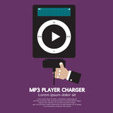 MP3 Player Charger Stock Photography