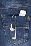 Music in your pocket Stock Image