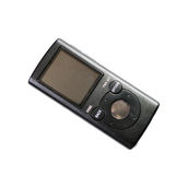 MP3 player, it is isolated Royalty Free Stock Photo