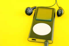 Mp4 player Royalty Free Stock Photo