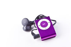 Mp3 player. On white background Stock Photography