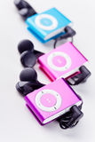 Mp3 players Stock Images
