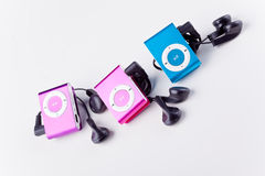 Mp3 players Royalty Free Stock Image