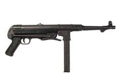 MP40 submachine πυροβόλο όπλο Στοκ εικόνα με δικαίωμα ελεύθερης χρήσης