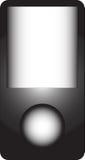 MP3播放器向量 免版税库存照片